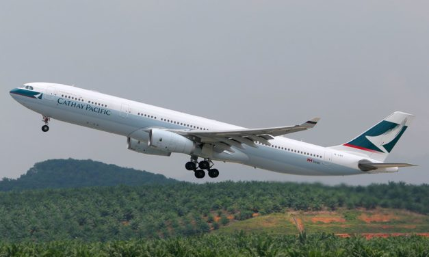 Flight Review: Cathay Pacific Next to a Baby On Board