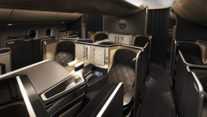British Airways 787 First Class