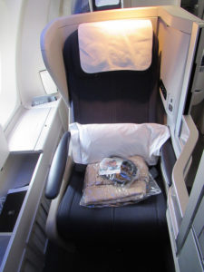 British Airways Club World Seat 747
