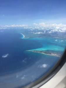 Arrival at Cancun