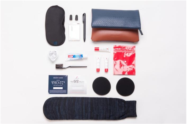 American Airlines New Amenity Kit, International First Class
