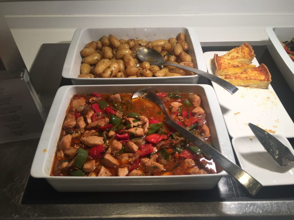 Chicken and Cashews and Roast Potatoes