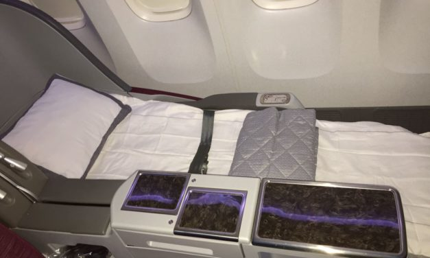 Review: Business Class Doha to Auckland on Qatar Airways