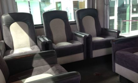 This Airport Transfer Bus Has Better Seats Than Some Airlines Business Class