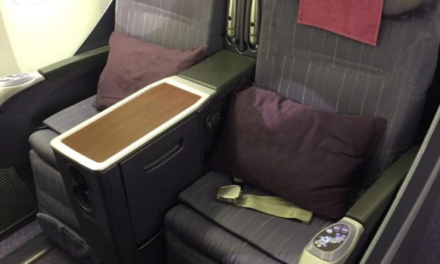 Review: Thai Business Class 777-200 Saigon (SGN) to Bangkok (BKK)