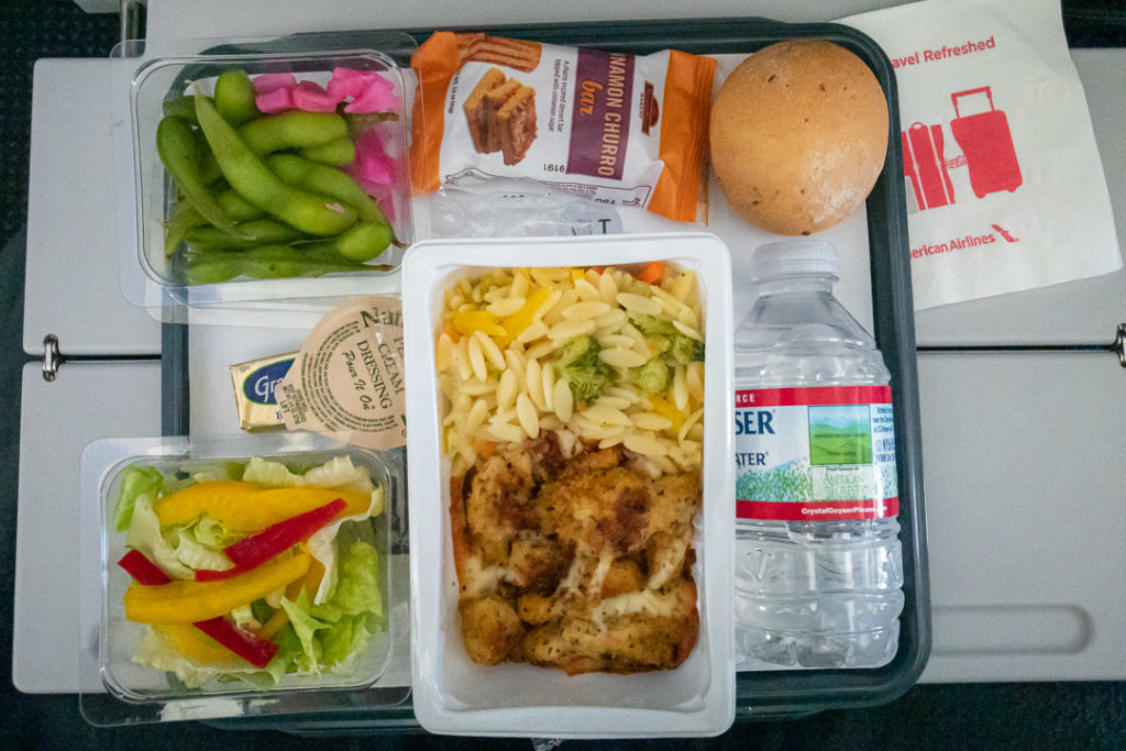 American Airlines Lunch