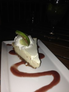 The Hyatt's Shor restaurant won First Place for its classic key lime pie.