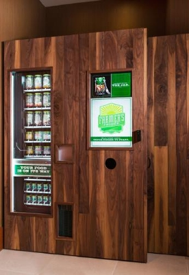 Marriott tests healthy food vending machine at Chicago O'Hare hotel