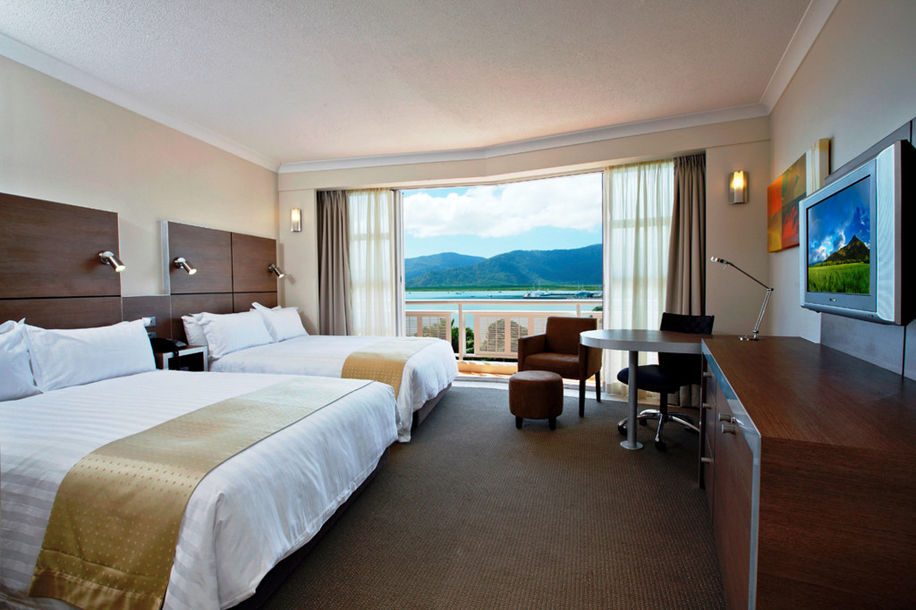 DoubleTree by Hilton's 400th hotel is the 237-room hotel, formerly a Holiday Inn, in Cairns, Australia.