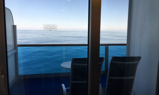 Cruise Review: Star Princess Cabin