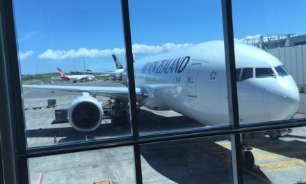 Paid Upgrades at Check-in: Air New Zealand