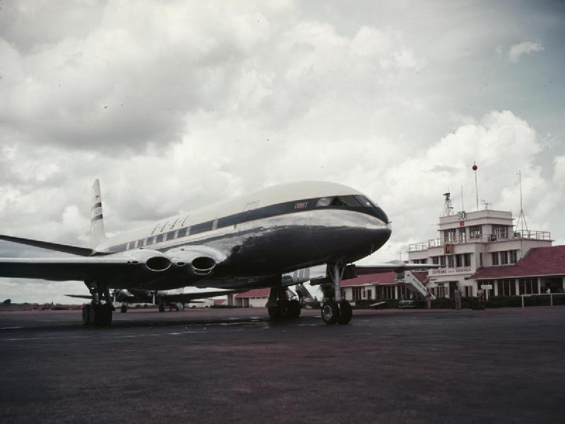 History: By Comet to Johannesburg