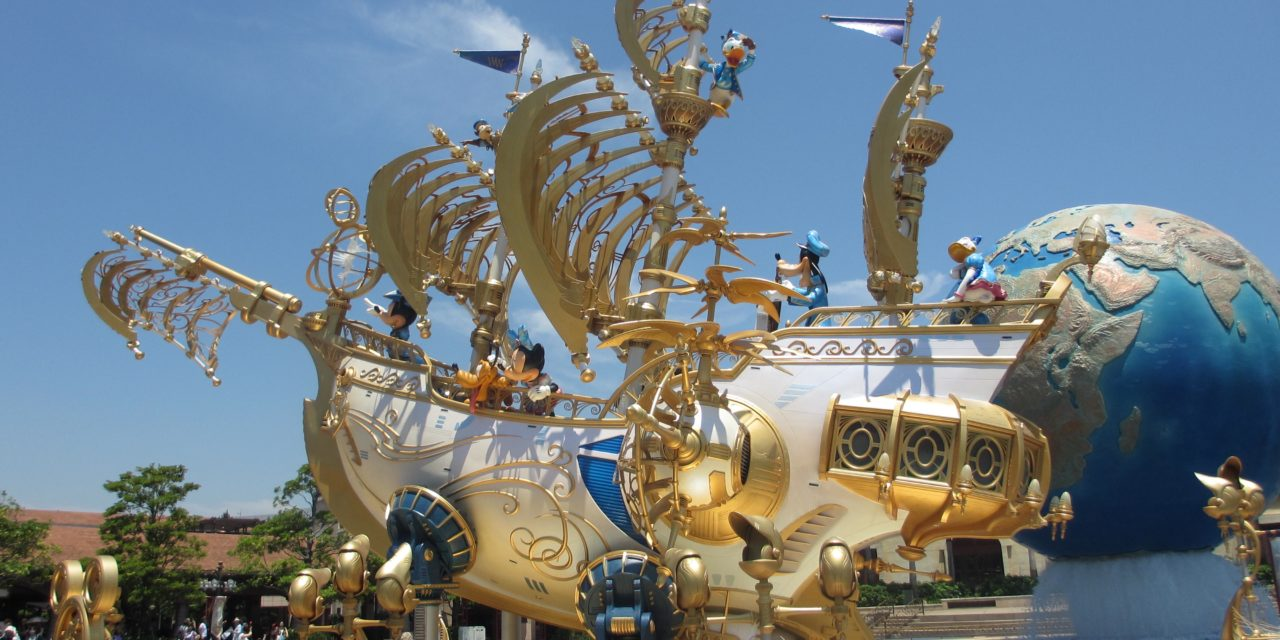 "Ever heard of the ""DisneySea"" theme park at the Disney Resort?"