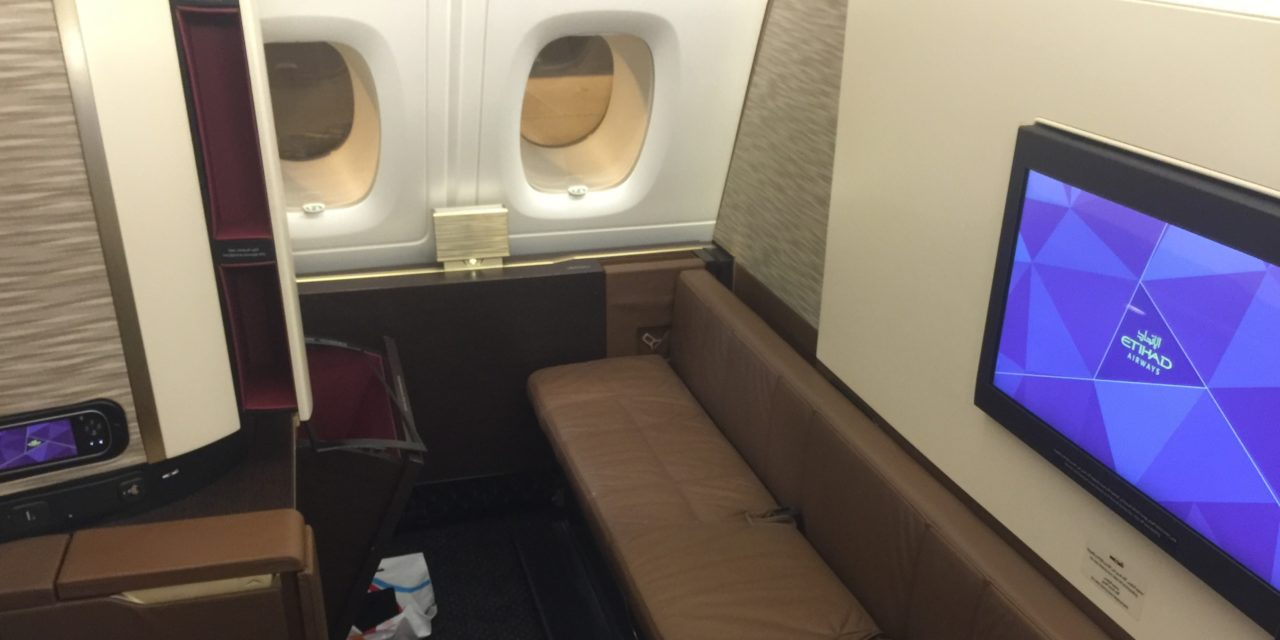 Cheap way to try Etihad's first class apartment