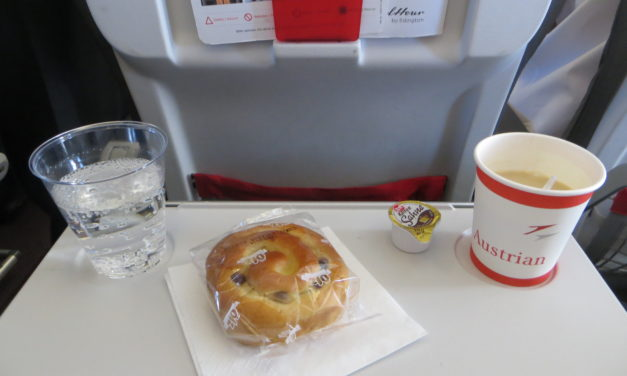 British Airways and Inflight Free Food