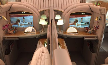 Flight Review: Emirates First Class A380