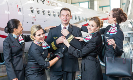 Trendy New Uniforms for Ireland's CityJet