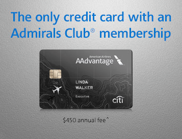 75,000 AAdvantage Miles – Citi Executive Card