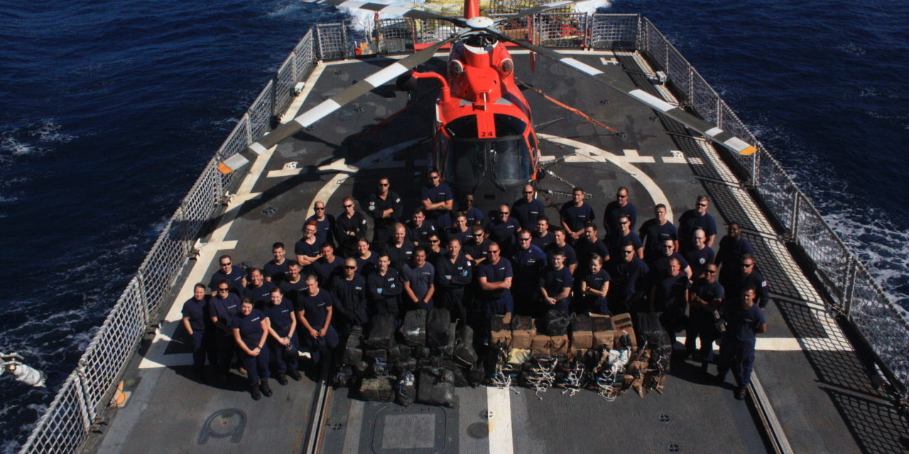 Coast Guard Patrol Seizes Nearly $100 Million in Drugs