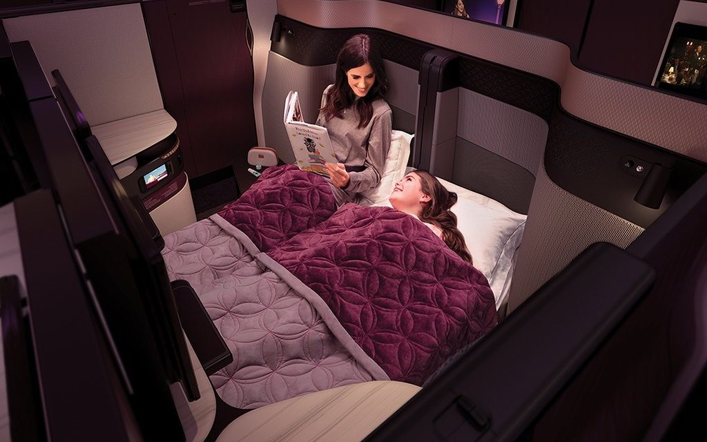 Qatar Airways Reveals New QSuite Business Class