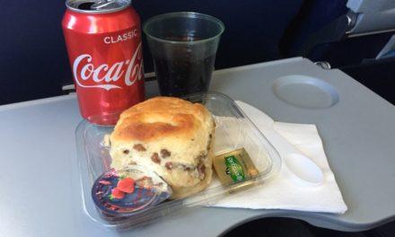 Review: Aer Lingus Bia Menu Scones To Paris