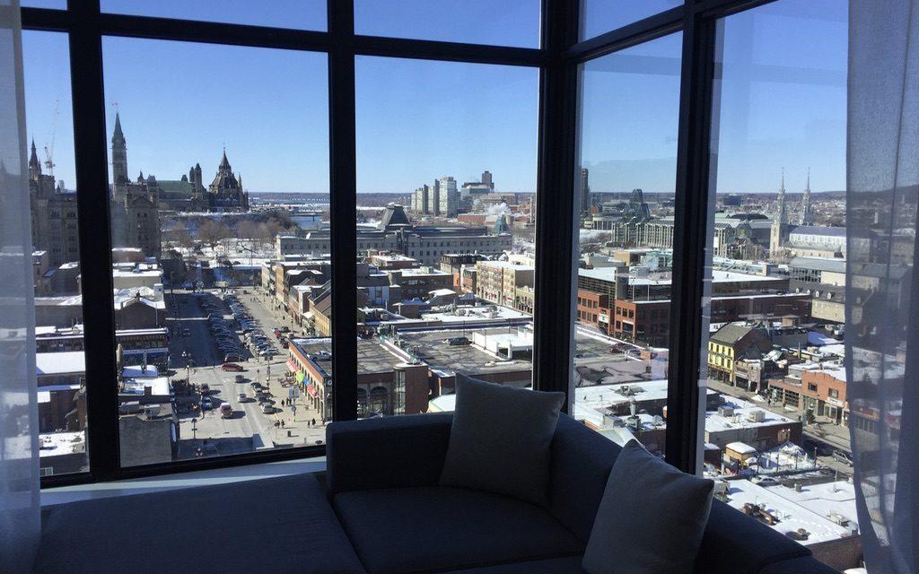 Diamond upgrade to Andaz Ottawa Suite
