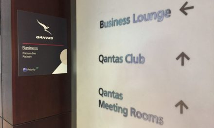 Review: Qantas Sydney Domestic Business Lounge