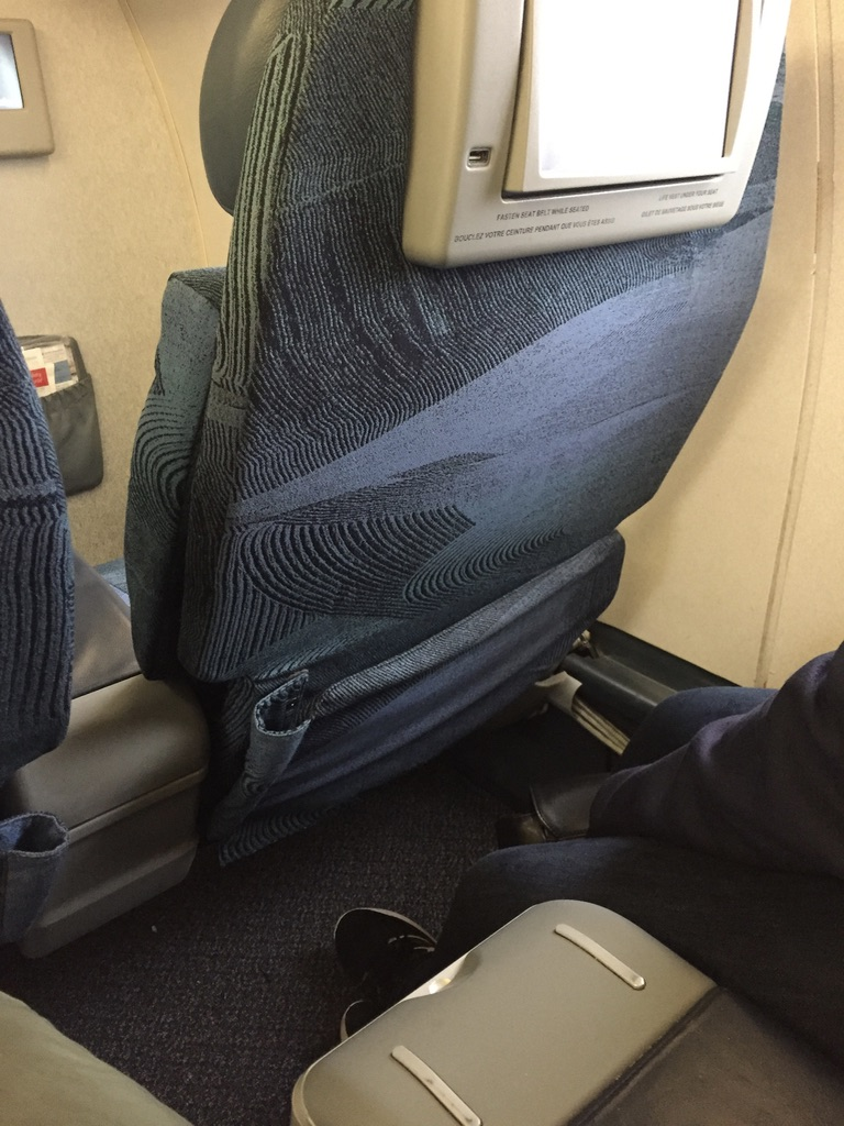 Air Canada Business Class Embraer 175