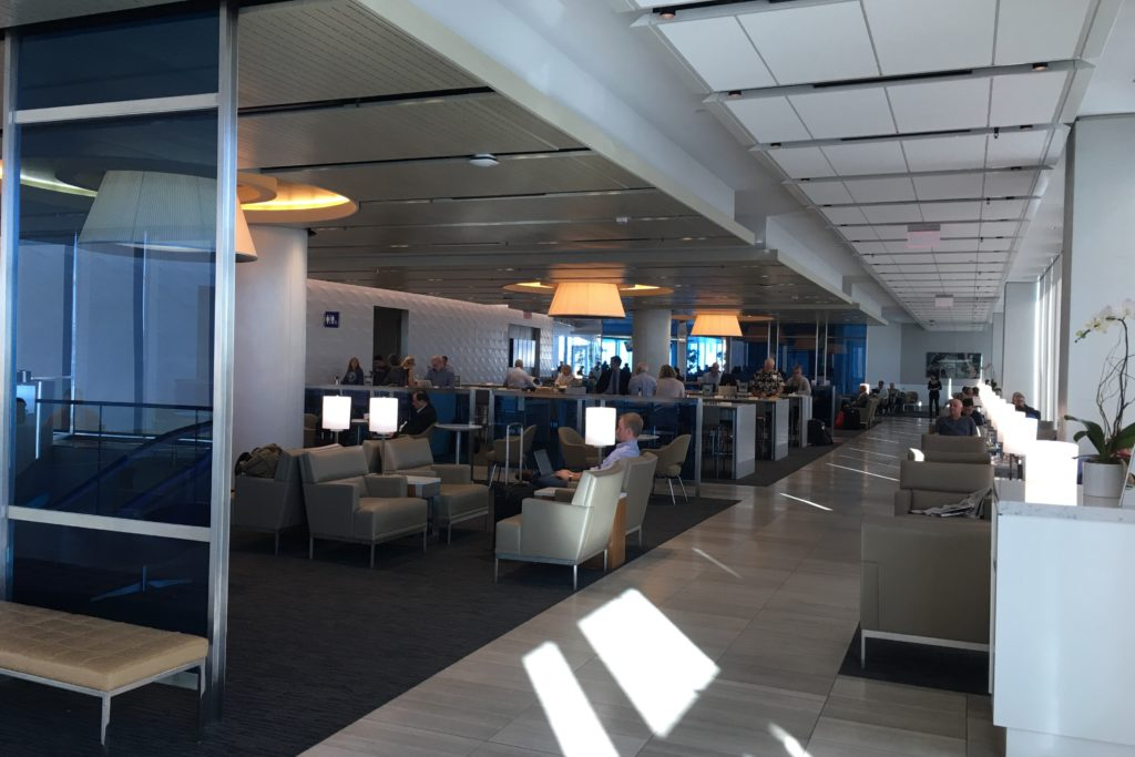 United Club at LAX