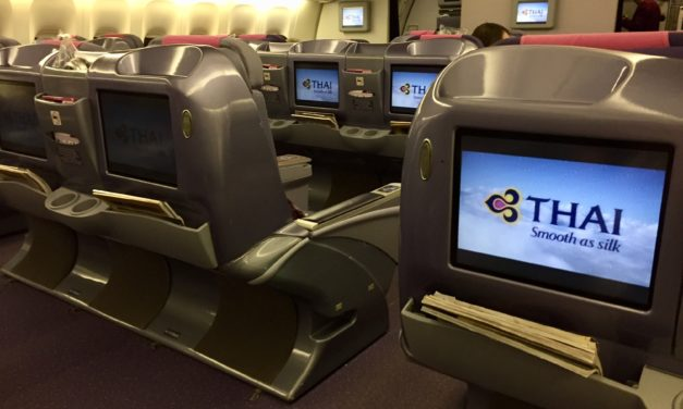 Flight Review: Thai Airways Business Class