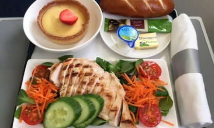 Do Airlines Mean To Ruin Food By Serving It Chilled?