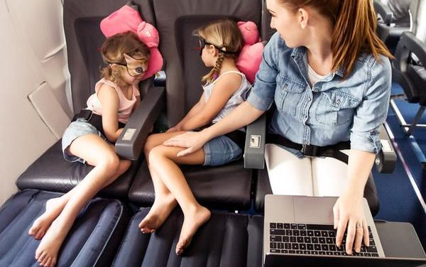 Is Plane Pal the best way to help children sleep on flights?