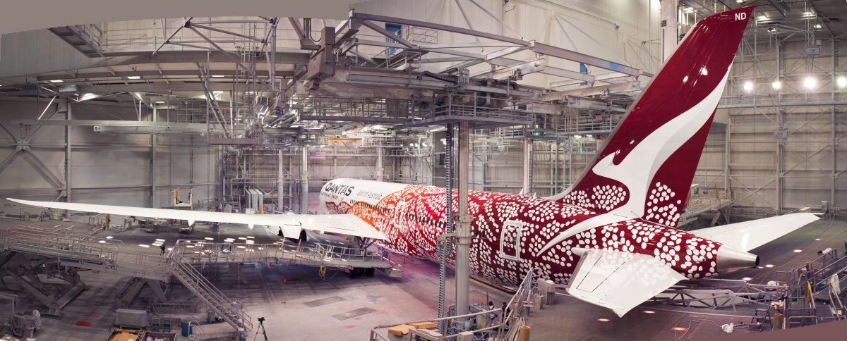 Here's the new Qantas Aboriginal livery (Plus the others!)