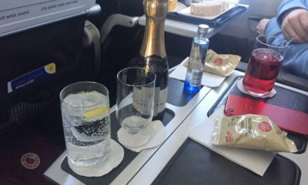 Elements of an enjoyable flight – BA Club Europe TXL-LHR