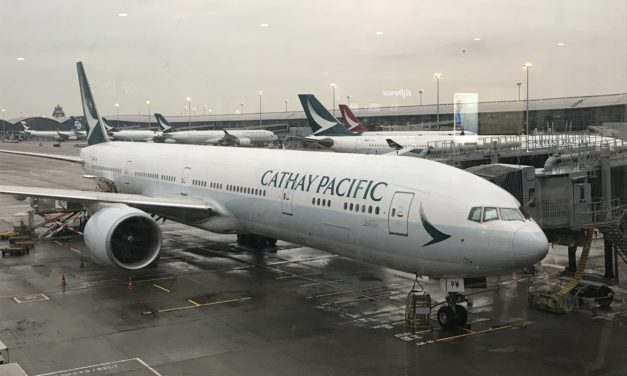 Review: Cathay Pacific Business Class Boston to Hong Kong  (777-300ER)