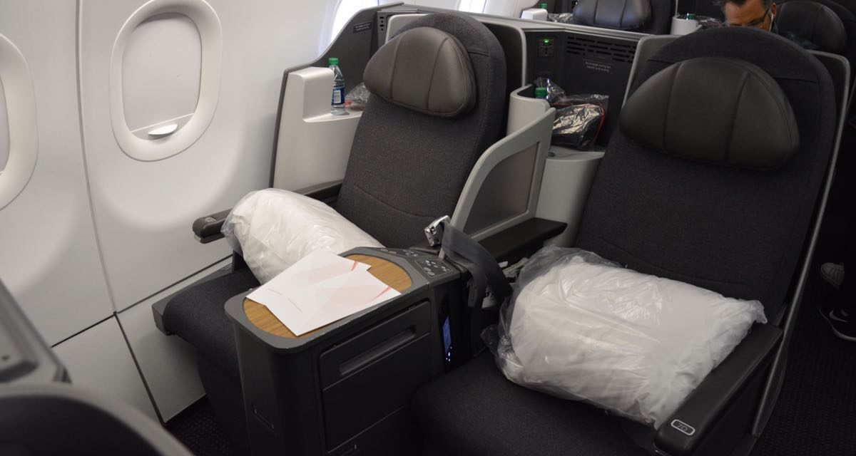 American A321 Transcontinental Business Class is Great (JFK-LAX)