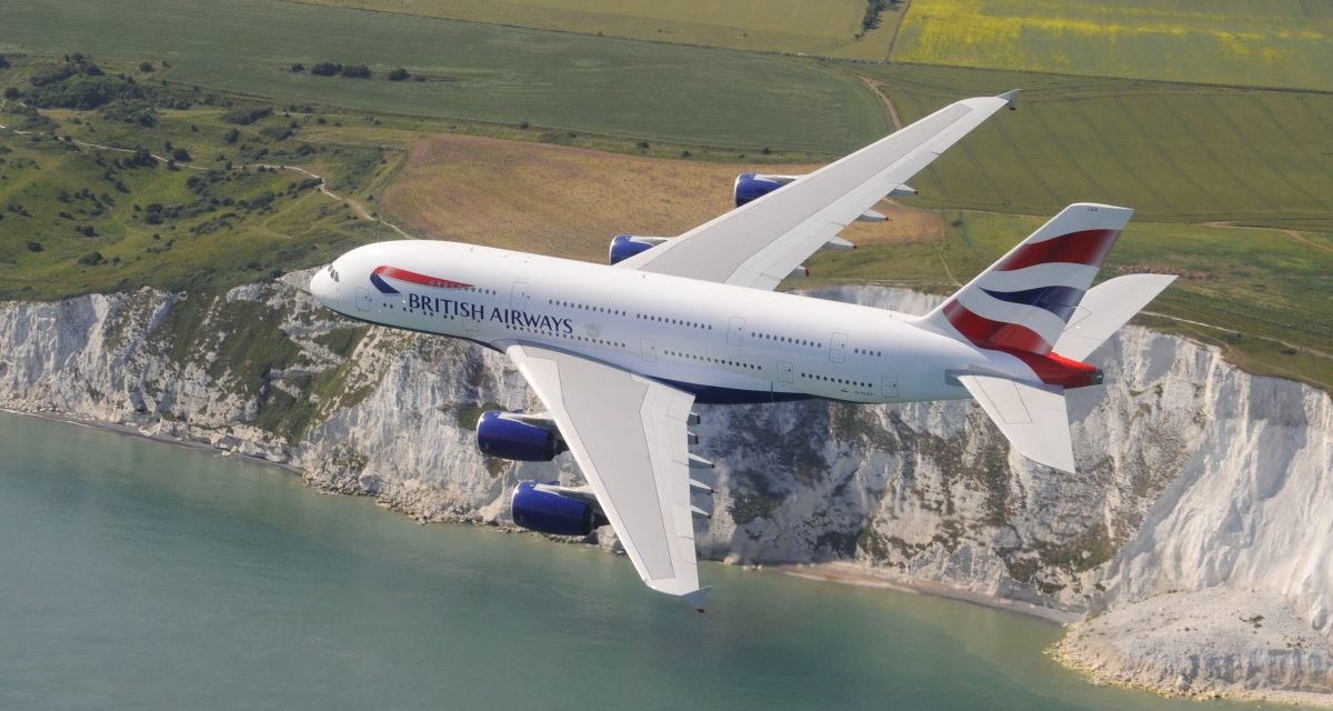 What is A380 Upper Deck like in World Traveller on British Airways?