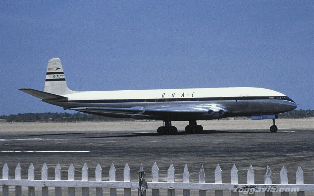 Does anyone remember the de Havilland Comet 1?