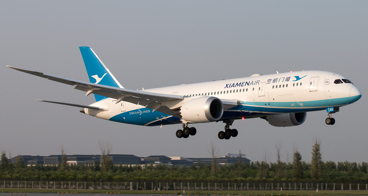 Xiamen Airlines Adds Paris Flights