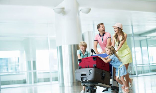 Travelling with kids under 12? Family check-in at British Airways