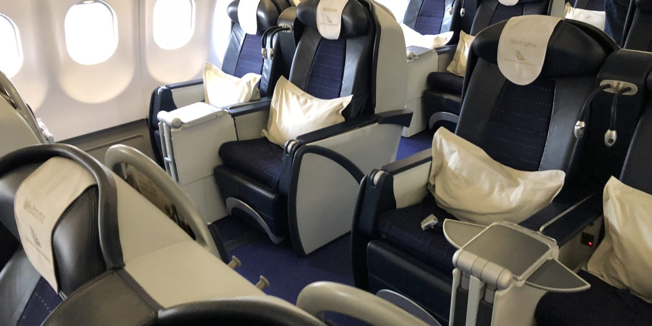 Flight Review: South African Airways Business Class A340