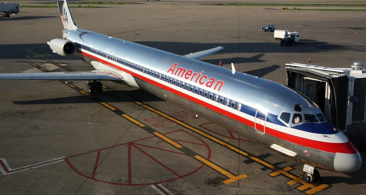 Where can you fly the American Airlines MD-80 before it retires?