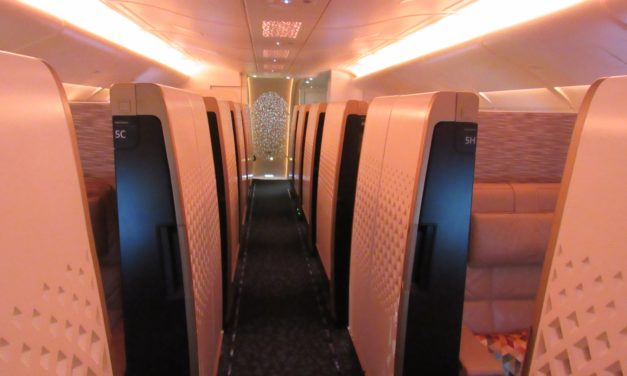 Etihad First Class Apartment A380 Review New York- Abu Dhabi
