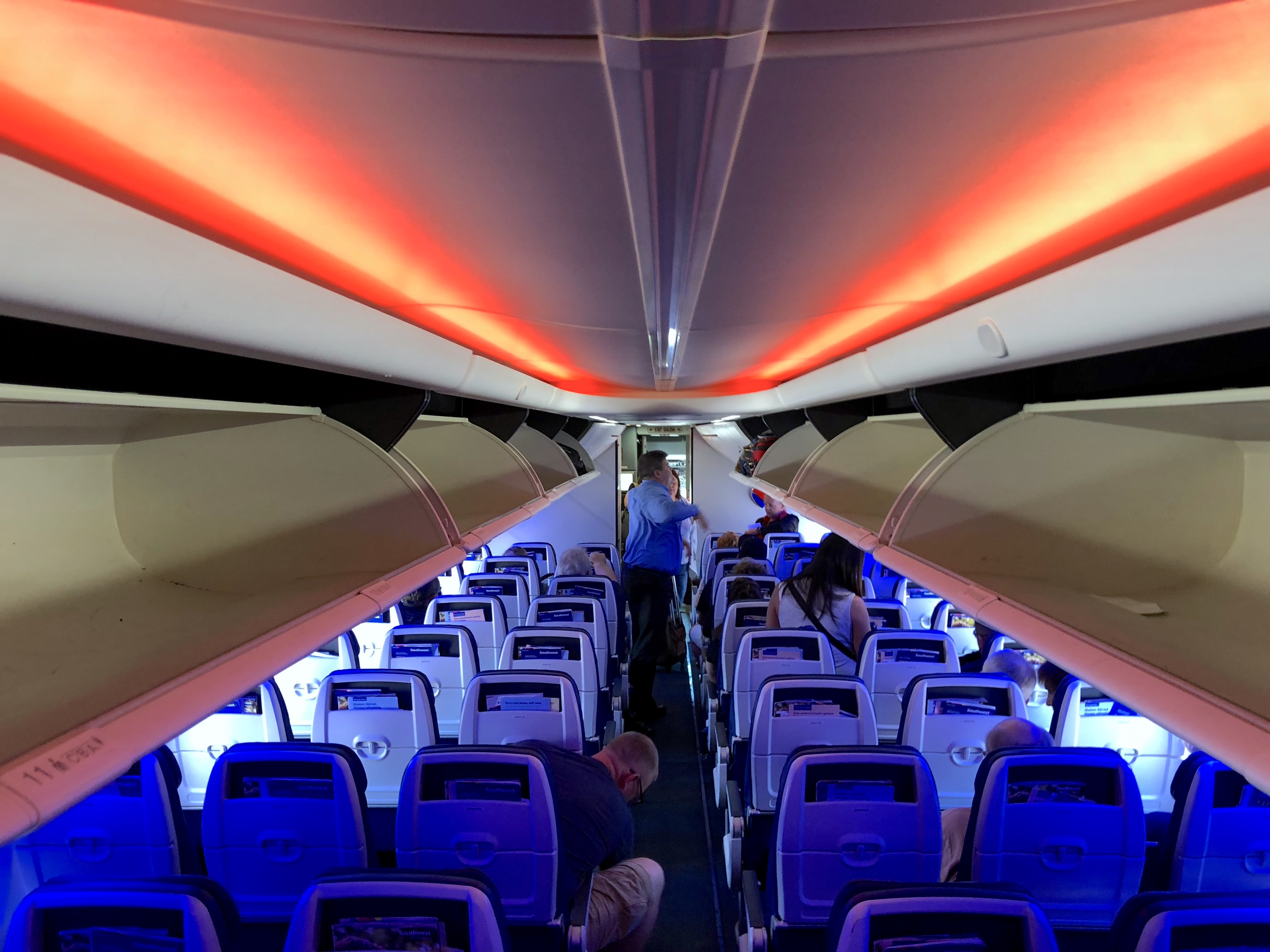 Southwest Airlines Boeing 737 MAX 8 Cabin Overview