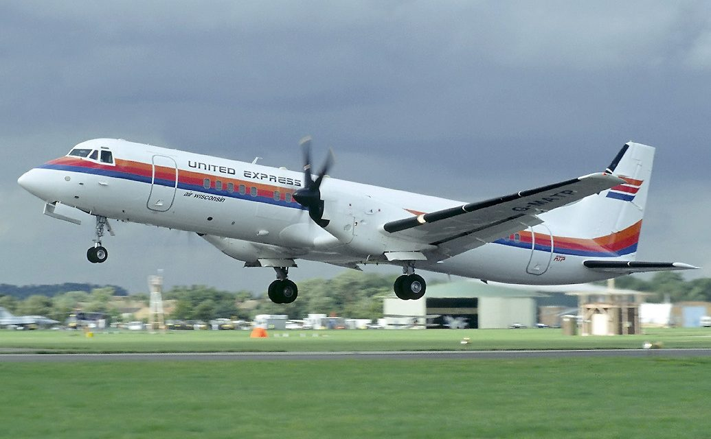 Does anyone remember the British Aerospace ATP?
