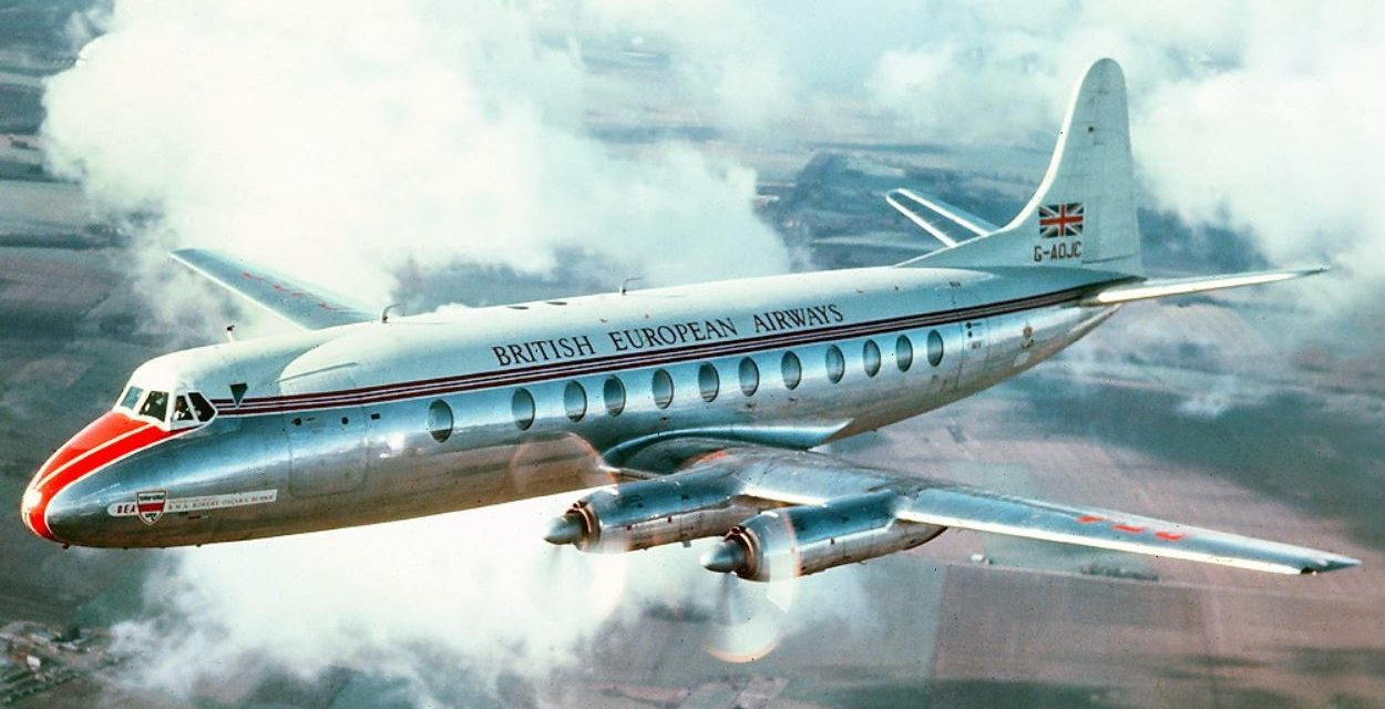 Does anyone remember the Vickers Viscount?
