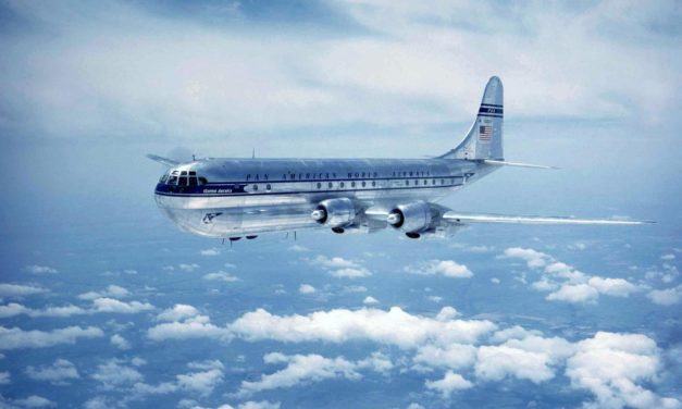 Does anyone remember the double-deck Boeing Stratocruiser?