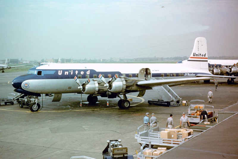 Does anyone remember the Douglas DC-6?