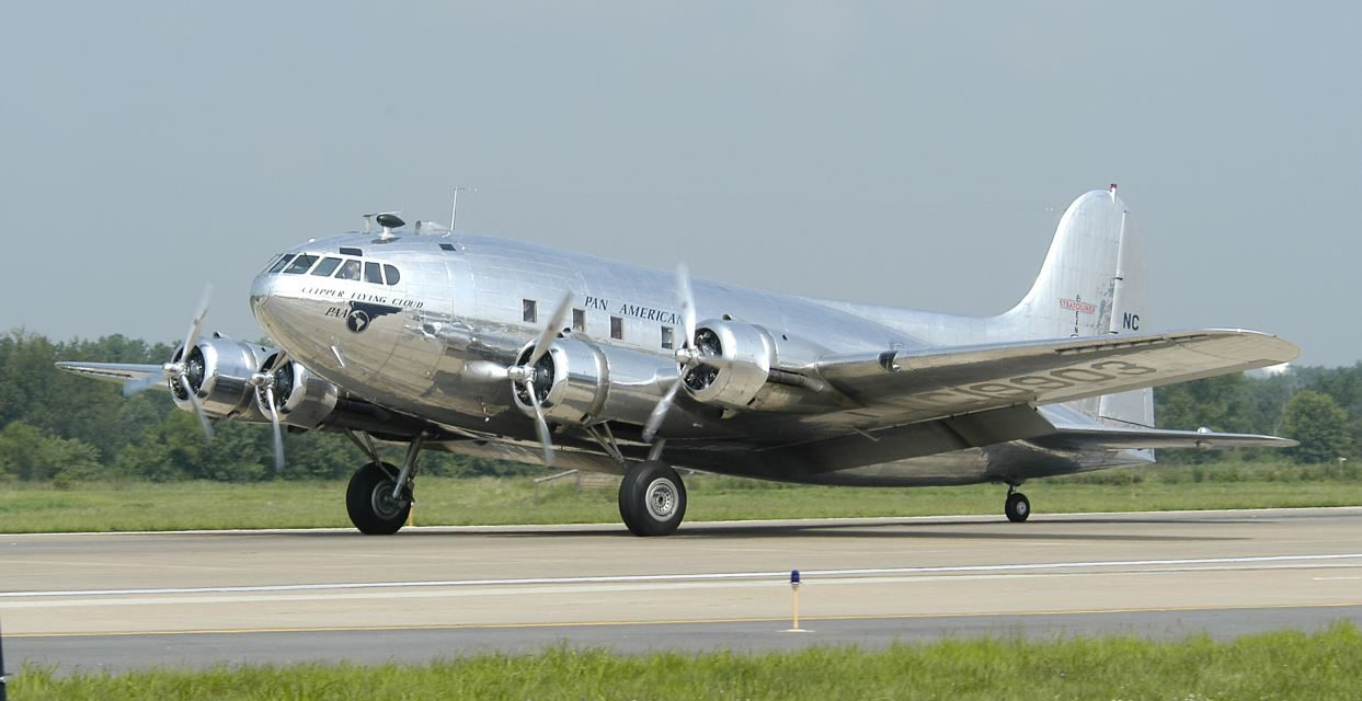 Does anyone remember the Boeing 307 Stratoliner?