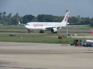 Second Qatar Airways Flight